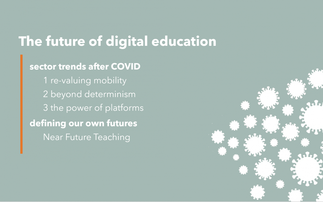 15th Annual Drapers lecture: the future of digital education